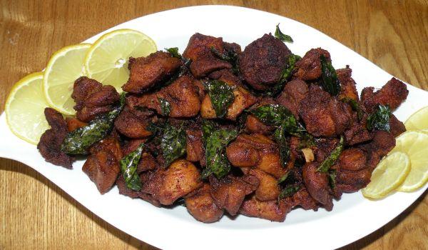 Kerala Style Mutton Fry