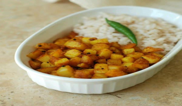 Kerala Style Potato Fry Recipe