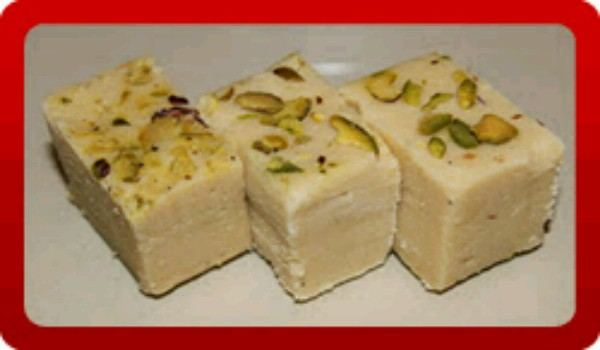 Khoya Burfi Recipe