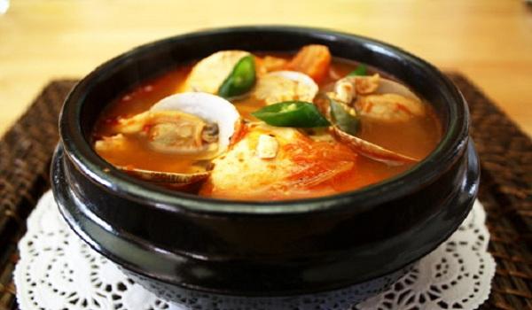 Korean Soft Tofu Stew