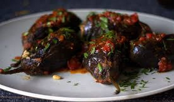 Lebanese Stuffed Eggplant Recipe