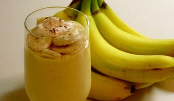 Lemon Banana Lassi