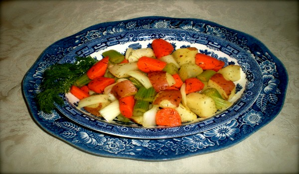 Lemon Glazed Vegetables Recipe
