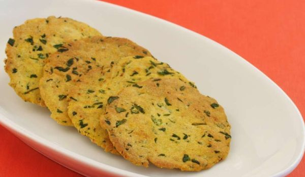 Low Fat Baked Puri Recipe