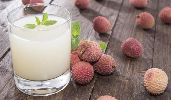 Lychee-Coconut Mocktail