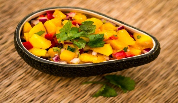 Mango Mania Salsa Recipe - How To Make Mango Mania Salsa - How To ...
