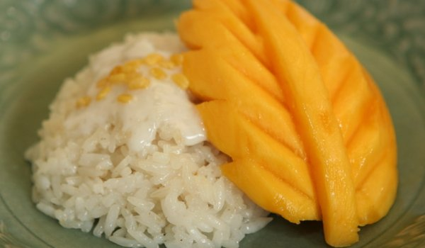 Mango on Sticky Rice Recipe