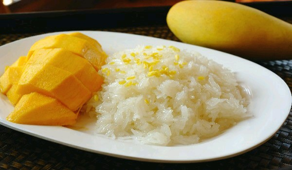 Mango Sweet Rice Recipe