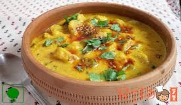Marwari Gatta Kadhi Recipe