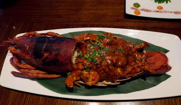 Masala Lobster