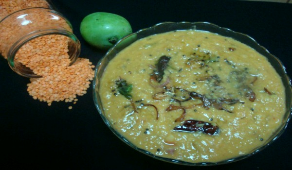 Masoor Dal With Green Mango