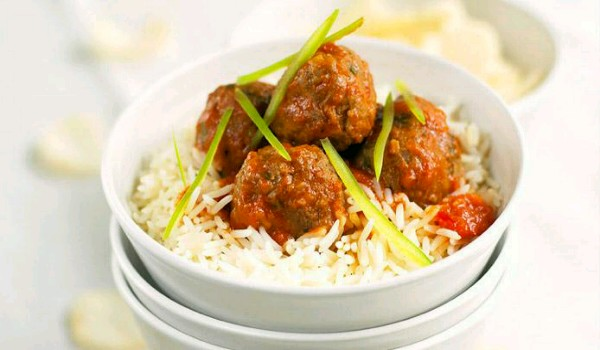 Meatballs with Rice Recipe