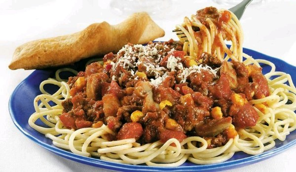 Mexican Fiesta Spaghetti
