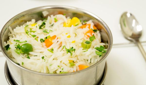 Microwave Pulao Recipe