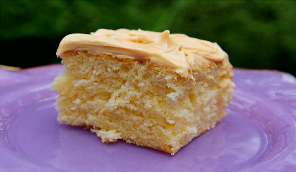 Moist Yellow Cake Recipe