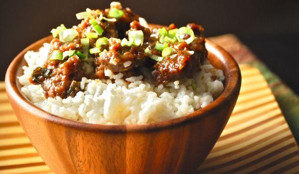 Mongolian Beef Rice