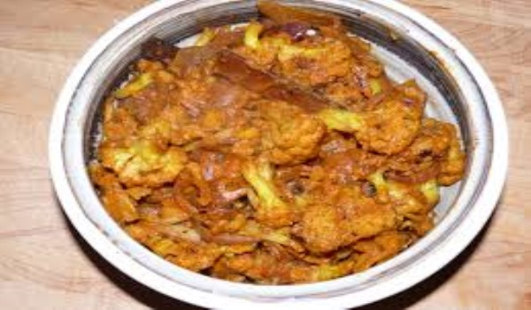 Mughlai Cauliflower Recipe