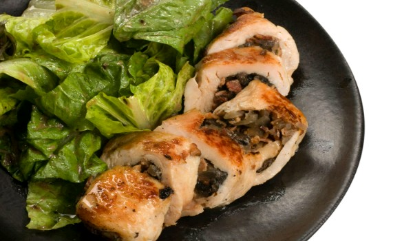 Mushroom Stuffed Chicken Recipe
