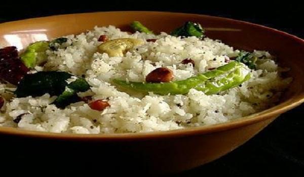 Mustard Coconut Rice