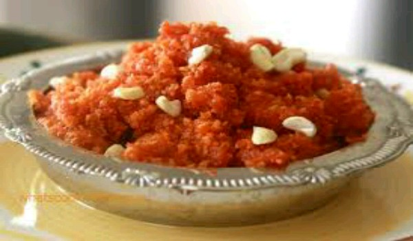No-Fat Carrot Halwa Recipe