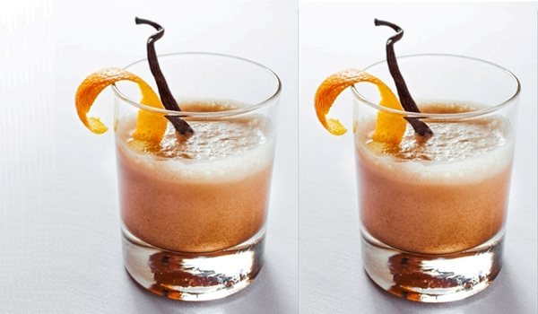 Orange Cream Milk Punch Recipe