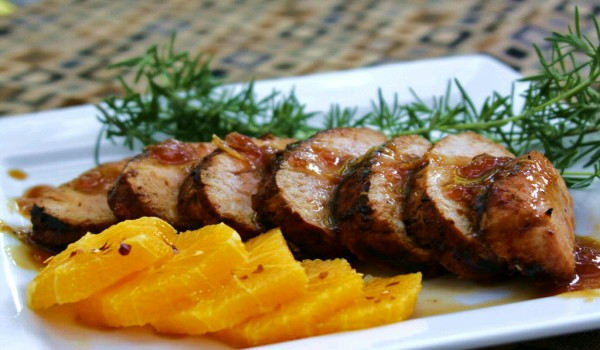 Orange Ginger Pork Roast