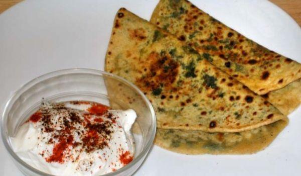 Palak Paratha Recipe