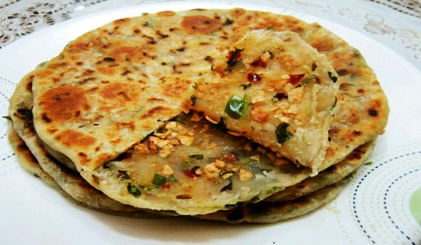 Papad Paratha Recipe