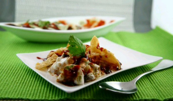 Papri Vegetarian Recipe