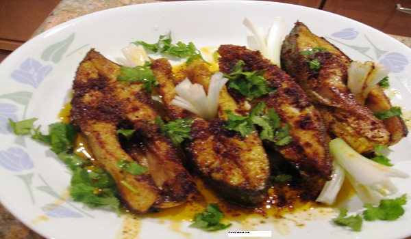 Parsi Fried Fish Recipe