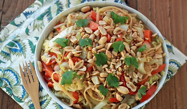 Peanut Sesame Vegetables Recipe