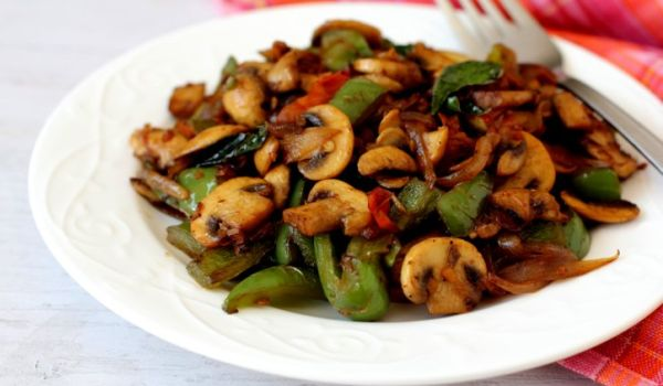 Pepper Mushrooms