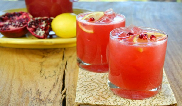 Pineapple Pomegranate Cocktail