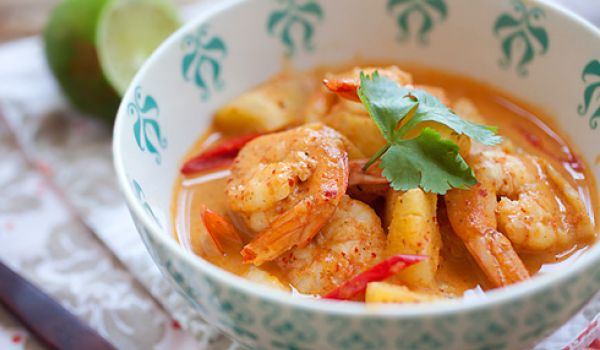 Pineapple Shrimp Curry