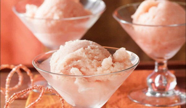 Pink Grapefruit Sorbet Recipe