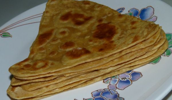 Plain Parathas Recipe