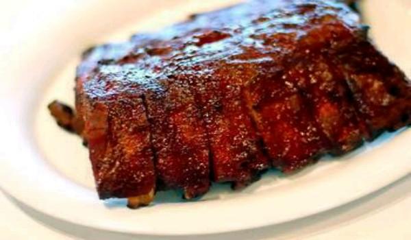 Plum Glazed Pork Ribs Recipe