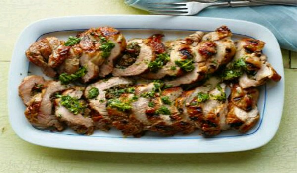 Pork Tenderloin With Stuffing Recipe