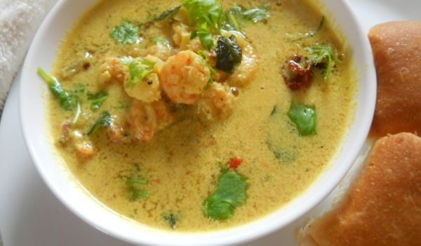 Prawn Curry With Coconut