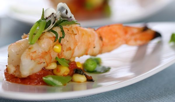 Prawns With Tomato
