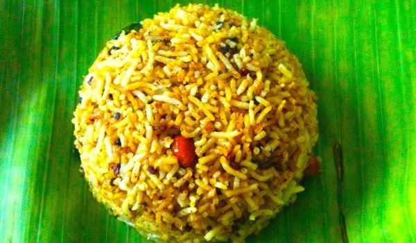 Puliyogare Rice Recipe