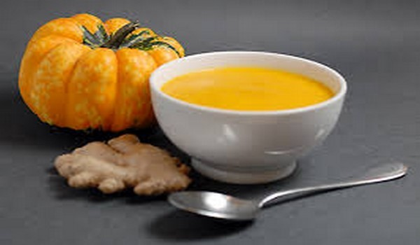 Pumpkin Soup with Ginger Recipe