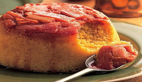 Rhubarb Pudding Recipe
