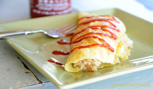 Rice Omelet Recipe