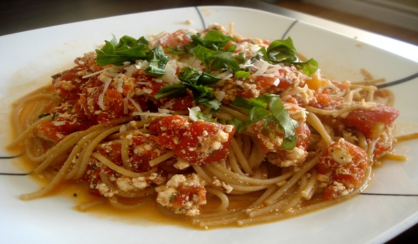 Ricotta Spaghetti