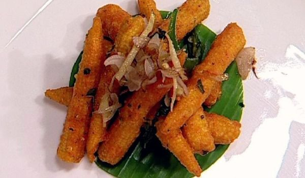 Roasted Baby Corn Recipe