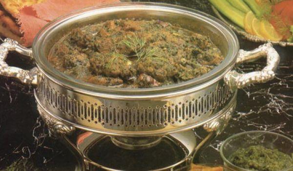 Saag Meat Recipe
