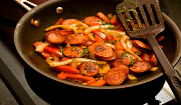 Sausage Fry Recipe