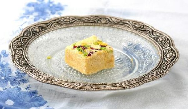 Sev Burfi Recipe