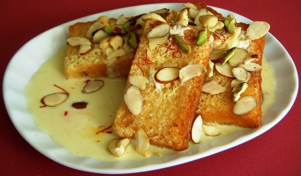Shahi Tukra Recipe